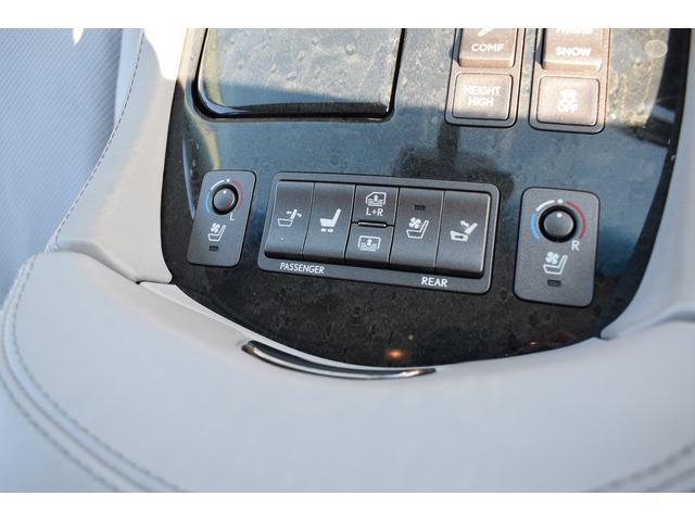 LS600hL エアサス4本交換済み リアエンターテイメント 白革シート HDD地デジフルセグ ロングボディー マークレビンソン 3面サンシェード(19枚目)