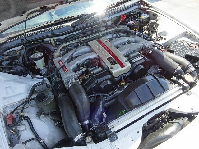 日産 フェアレディZ 300ZXツインターボ2by2Tバールーフ黒革パワーシート