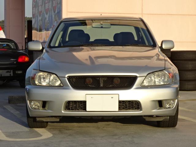 トヨタ アルテッツァ RS200 Z-ED サンルーフ HKSマフラー社外エキマニ
