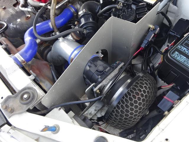 三菱 ランサー GSRエボリューションVI F5 車高調 FRPボンネット