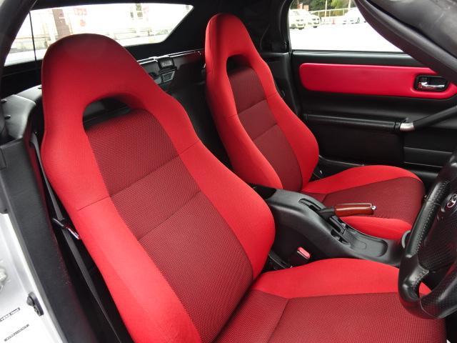 ☆純正REDシートは、かなり良い状態!!是非!現車を見にいらしてください!!