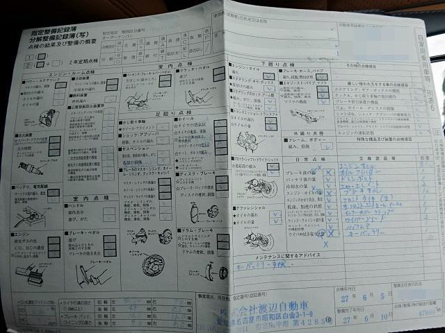 平成27年6月の記録簿です!