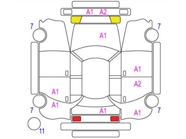 250G 中期型/HIDヘッド/オートライト/クリアランスソナー/Bluetooth/フルセグ/ユーザー買取/パワーシート(4枚目)