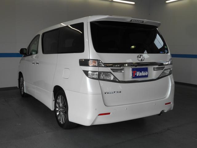 トヨタ ヴェルファイア 2.4Z ゴールデンアイズII 禁煙車 HDDナビ ETC