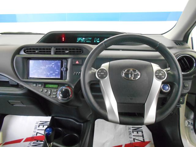 トヨタ アクア G 禁煙車 フルセグナビ バックカメラ スマートキー