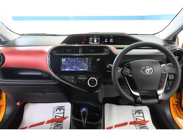 トヨタ アクア S セーフティセンス ワンセグナビ バックカメラ