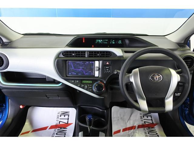 トヨタ アクア S 禁煙車 HDDナビ ETC スマートキー