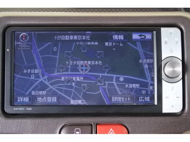 トヨタ スペイド F メモリーナビ フルセグ ETC HIDライト
