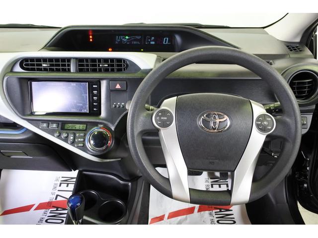 トヨタ アクア S 禁煙車 ナビ バックカメラ ETC