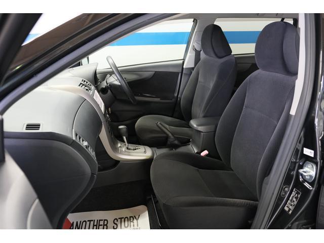【フロントシート】ゆったりとしたシートで、ドライビングをお楽しみ下さい。