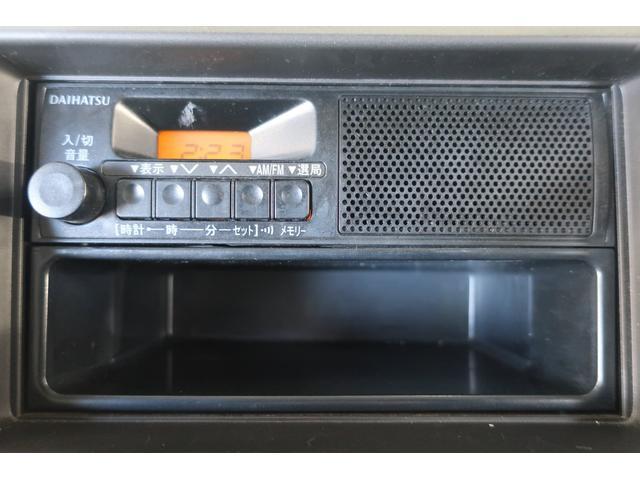 ラジオ付き。