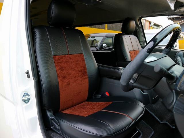 トヨタ ハイエースワゴン GL REVOファミリーワゴン 車中泊フラットベッド 床施工