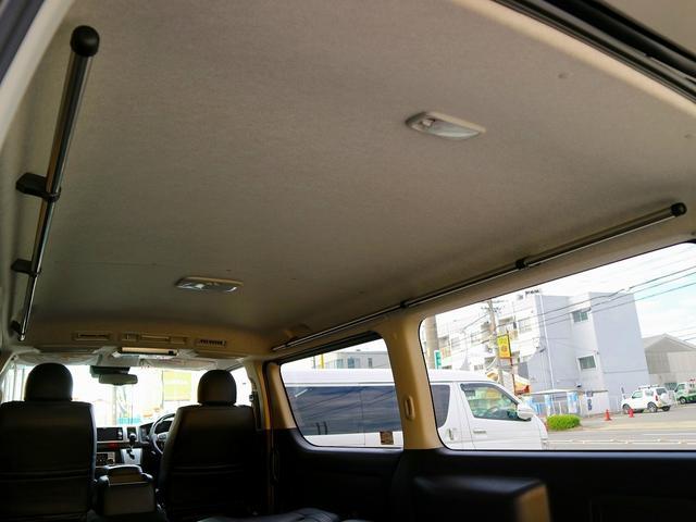 ロングスーパーGL 8人乗車 車中泊ベッド フローリング施工(13枚目)