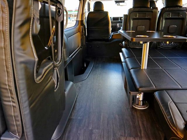 GL FD-BOX0 車中泊ベッドキット 床張り テーブル(8枚目)