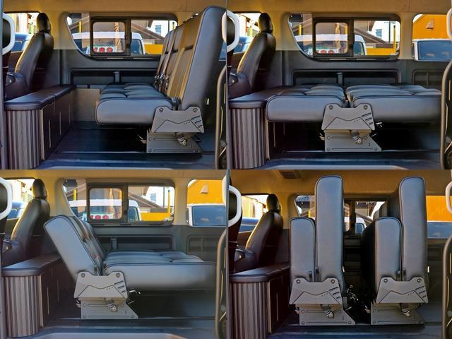 GL FD-BOX3T レジャー仕様 車中泊ベッド 床施工済(4枚目)