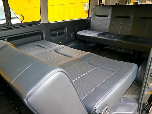 GL FD-BOX3T レジャー仕様 車中泊ベッド 床施工済(5枚目)