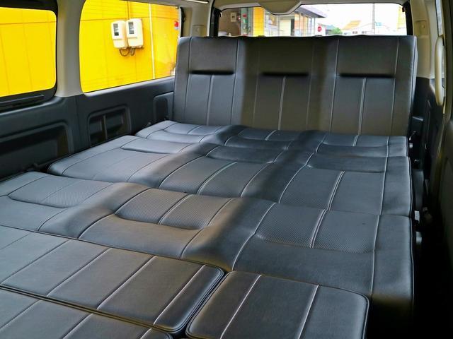 GL FD-BOX3T レジャー仕様 車中泊ベッド 床施工済(6枚目)