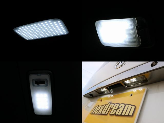各部SMDルームランプに交換しているので夜間の車内での視認性も高いです♪