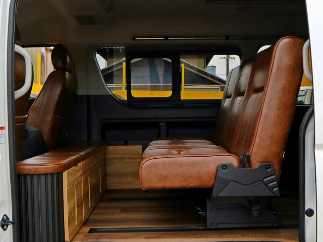 GL ローン金利1.9パーセント 120回 FD-BOX2 車中泊フラットベッド対応 フローリング&シートレール搭載 インテリアパネルSET LEDヘッドライト パワースライドドア PVM スマートキー&プ(50枚目)
