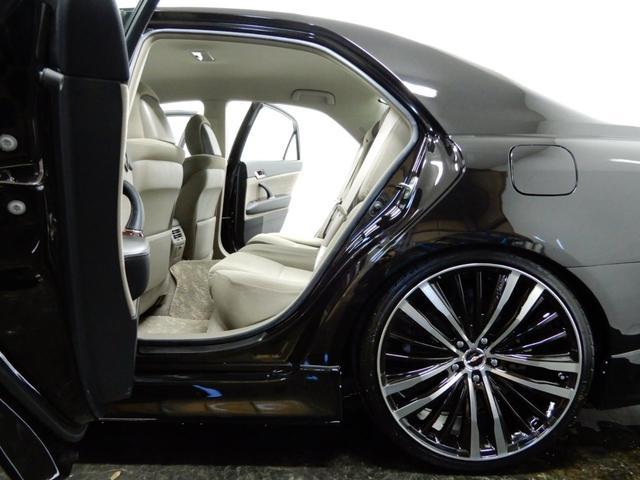トヨタ マークX 250Gナビ新品車高調新品20AW新品エアロ6連リング1オナ