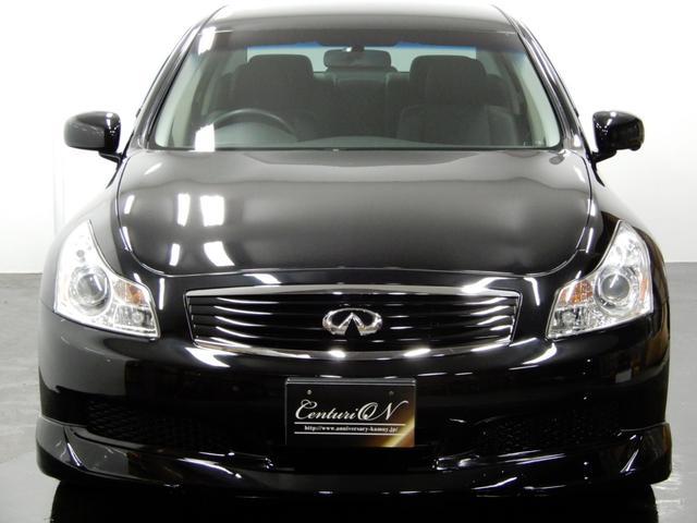 日産 スカイライン 250GT黒内装HDD新品車高調新品20AW新品エアロ1オナ