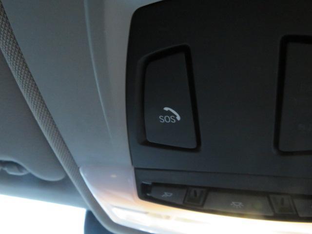 BMW SOSコールを装備。緊急車両を手配する機能です。