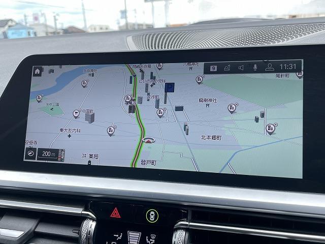 320d xDrive Mスポーツ 純正HDDナビ バックカメラ インテリジェントセーフティ ハーフレザーシート メモリー付パワーシート シートヒーター LEDヘッドライト 純正18インチアルミ アダプティブクルーズコントロール ETC(3枚目)