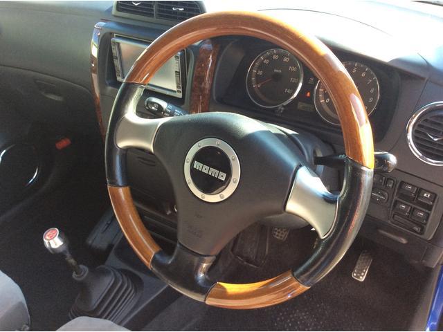 ダイハツ ミラアヴィ RS 5MT ターボ  momoステ 15インチアルミ