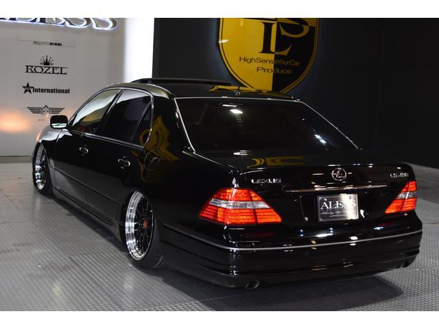 レクサス レクサス LS430 新品車高調 新品タイヤ新品19inホイール HDDナビ