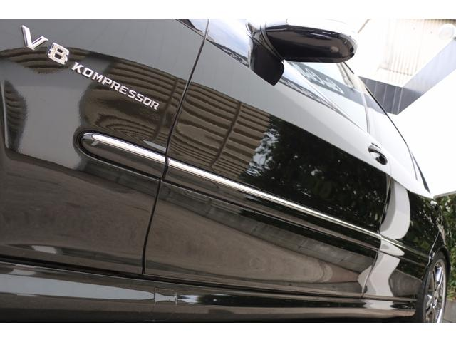 メルセデス・ベンツ M・ベンツ S55L AMG V8コンプレッサー ローダウン 左ハンドル