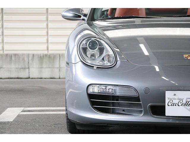 ボクスターS 正規ディーラー車 左ハンドル シールグレーメタリック レッドレザーインテリア ブラウンソフトトップ HIDヘッドライト カロッツェリアナビ フルセグTV バックカメラ シートヒーター レッドキャリパー(11枚目)