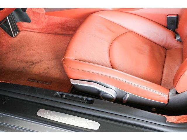 ボクスターS 正規ディーラー車 左ハンドル シールグレーメタリック レッドレザーインテリア ブラウンソフトトップ HIDヘッドライト カロッツェリアナビ フルセグTV バックカメラ シートヒーター レッドキャリパー(39枚目)