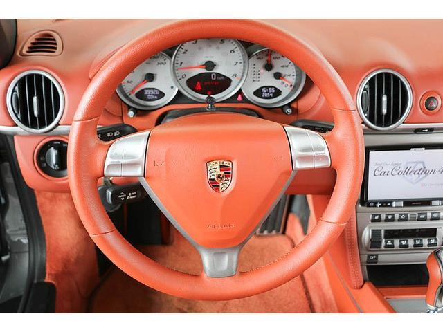 ボクスターS 正規ディーラー車 左ハンドル シールグレーメタリック レッドレザーインテリア ブラウンソフトトップ HIDヘッドライト カロッツェリアナビ フルセグTV バックカメラ シートヒーター レッドキャリパー(54枚目)