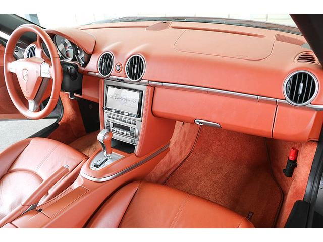 ボクスターS 正規ディーラー車 左ハンドル シールグレーメタリック レッドレザーインテリア ブラウンソフトトップ HIDヘッドライト カロッツェリアナビ フルセグTV バックカメラ シートヒーター レッドキャリパー(62枚目)