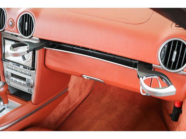 ボクスターS 正規ディーラー車 左ハンドル シールグレーメタリック レッドレザーインテリア ブラウンソフトトップ HIDヘッドライト カロッツェリアナビ フルセグTV バックカメラ シートヒーター レッドキャリパー(65枚目)