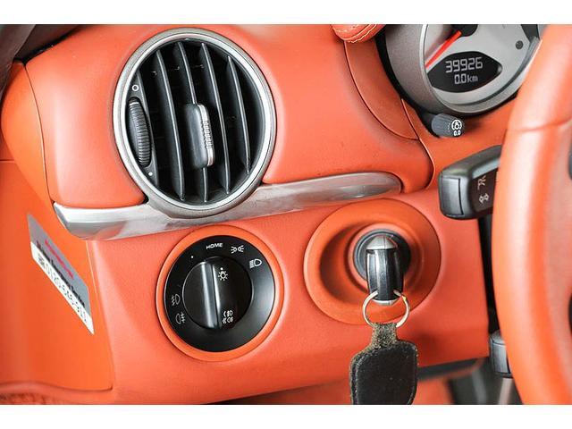 ボクスターS 正規ディーラー車 左ハンドル シールグレーメタリック レッドレザーインテリア ブラウンソフトトップ HIDヘッドライト カロッツェリアナビ フルセグTV バックカメラ シートヒーター レッドキャリパー(67枚目)