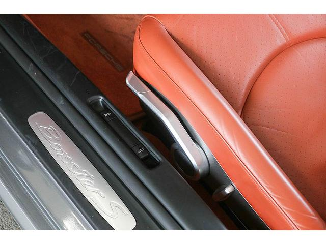 ボクスターS 正規ディーラー車 左ハンドル シールグレーメタリック レッドレザーインテリア ブラウンソフトトップ HIDヘッドライト カロッツェリアナビ フルセグTV バックカメラ シートヒーター レッドキャリパー(68枚目)