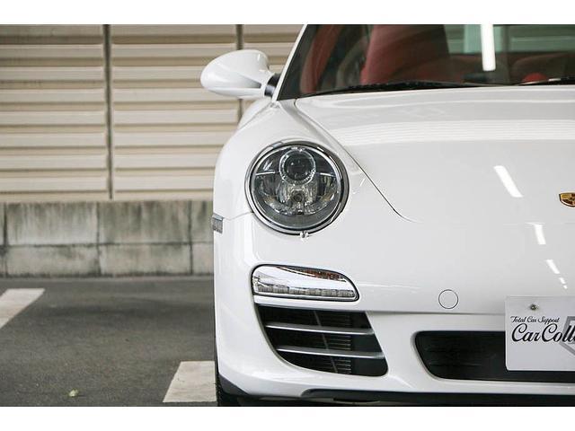 911カレラ4S 後期型 PDK 正規ディーラー車 左ハンドル スポーツクロノパッケージ オールレッドレザーインテリア シートヒーター HIDヘッドライト 純正19inホイール レッドキャリパー 純正ナビ バックカメラ(11枚目)