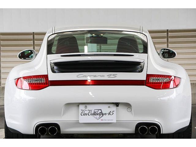 911カレラ4S 後期型 PDK 正規ディーラー車 左ハンドル スポーツクロノパッケージ オールレッドレザーインテリア シートヒーター HIDヘッドライト 純正19inホイール レッドキャリパー 純正ナビ バックカメラ(20枚目)