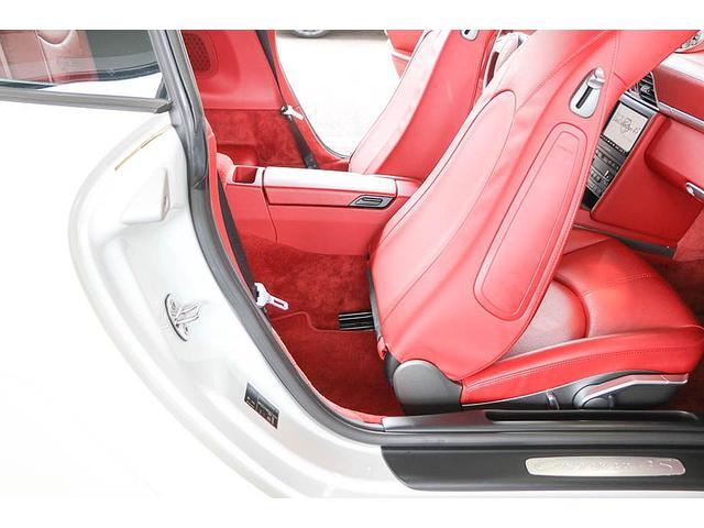 911カレラ4S 後期型 PDK 正規ディーラー車 左ハンドル スポーツクロノパッケージ オールレッドレザーインテリア シートヒーター HIDヘッドライト 純正19inホイール レッドキャリパー 純正ナビ バックカメラ(45枚目)