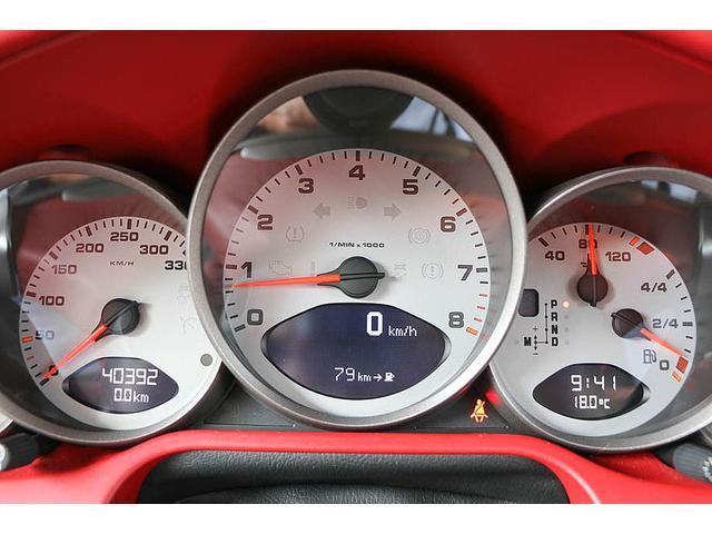 911カレラ4S 後期型 PDK 正規ディーラー車 左ハンドル スポーツクロノパッケージ オールレッドレザーインテリア シートヒーター HIDヘッドライト 純正19inホイール レッドキャリパー 純正ナビ バックカメラ(54枚目)