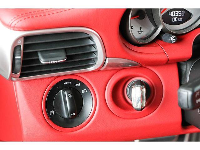 911カレラ4S 後期型 PDK 正規ディーラー車 左ハンドル スポーツクロノパッケージ オールレッドレザーインテリア シートヒーター HIDヘッドライト 純正19inホイール レッドキャリパー 純正ナビ バックカメラ(69枚目)