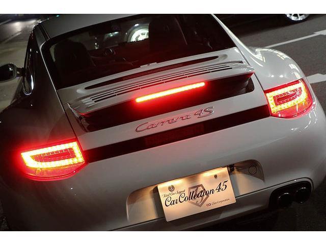 911カレラ4S 後期型 PDK 正規ディーラー車 左ハンドル スポーツクロノパッケージ オールレッドレザーインテリア シートヒーター HIDヘッドライト 純正19inホイール レッドキャリパー 純正ナビ バックカメラ(79枚目)