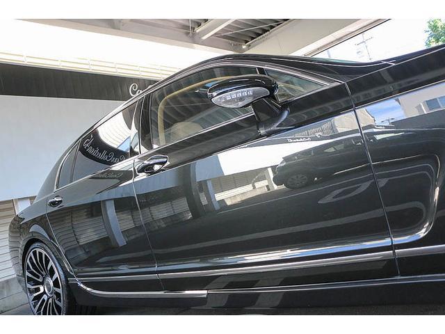 フライングスパー マイナーチェンジ後モデル 後期マンソリーエアロ/LEDライト付Fスポイラー Sスカート Rスカート グリル トランクスポイラー マフラーカッター/ 全席シートヒーター・クーラー Bluetooth接続(9枚目)