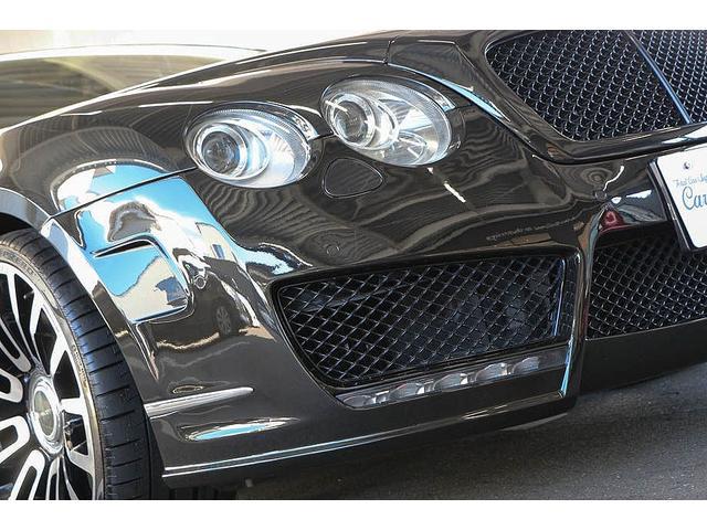 フライングスパー マイナーチェンジ後モデル 後期マンソリーエアロ/LEDライト付Fスポイラー Sスカート Rスカート グリル トランクスポイラー マフラーカッター/ 全席シートヒーター・クーラー Bluetooth接続(13枚目)