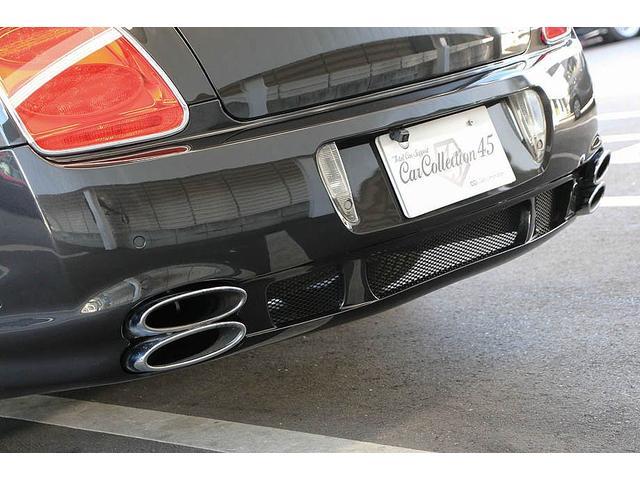 フライングスパー マイナーチェンジ後モデル 後期マンソリーエアロ/LEDライト付Fスポイラー Sスカート Rスカート グリル トランクスポイラー マフラーカッター/ 全席シートヒーター・クーラー Bluetooth接続(17枚目)