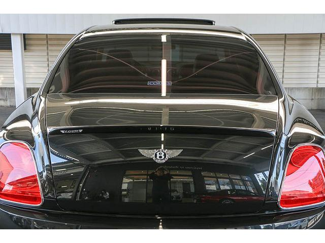 フライングスパー マイナーチェンジ後モデル 後期マンソリーエアロ/LEDライト付Fスポイラー Sスカート Rスカート グリル トランクスポイラー マフラーカッター/ 全席シートヒーター・クーラー Bluetooth接続(23枚目)