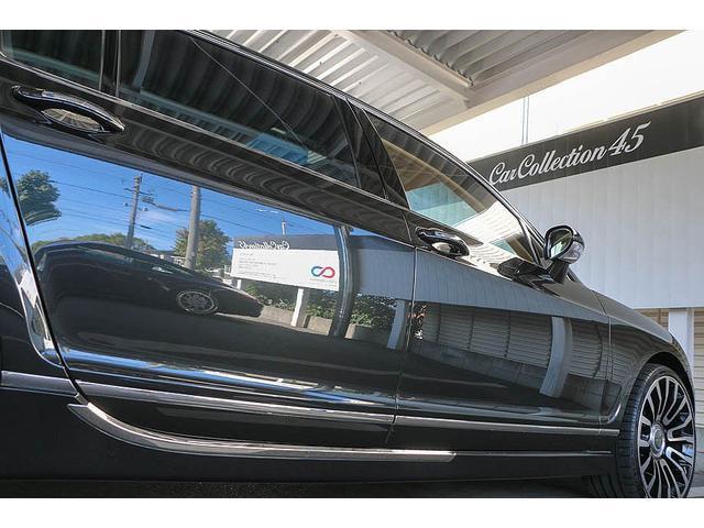 フライングスパー マイナーチェンジ後モデル 後期マンソリーエアロ/LEDライト付Fスポイラー Sスカート Rスカート グリル トランクスポイラー マフラーカッター/ 全席シートヒーター・クーラー Bluetooth接続(26枚目)