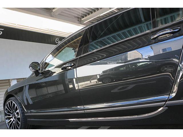 フライングスパー マイナーチェンジ後モデル 後期マンソリーエアロ/LEDライト付Fスポイラー Sスカート Rスカート グリル トランクスポイラー マフラーカッター/ 全席シートヒーター・クーラー Bluetooth接続(29枚目)
