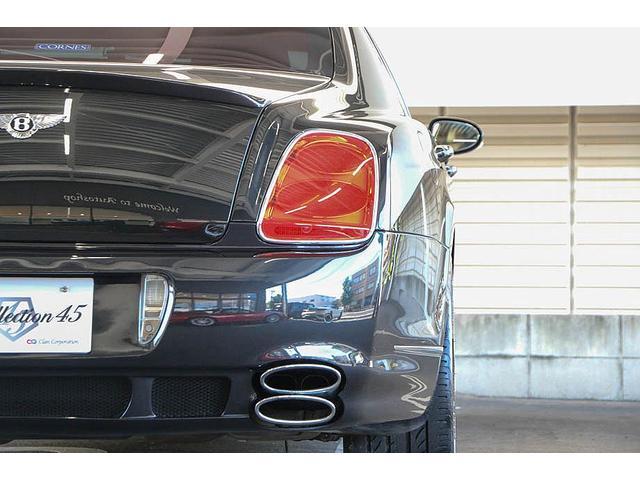 フライングスパー マイナーチェンジ後モデル 後期マンソリーエアロ/LEDライト付Fスポイラー Sスカート Rスカート グリル トランクスポイラー マフラーカッター/ 全席シートヒーター・クーラー Bluetooth接続(31枚目)